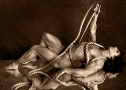 Annie Rivieccio Rope, Bill Dobbins PHoto Fine Art, Bill Dobbins Photo Fine Art, Bill Dobbins, Los Angeles, photographer, studio